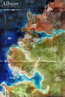 Fable 2 World Map, Minimalist