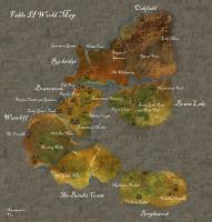 Fable 2 World Map, Detailed